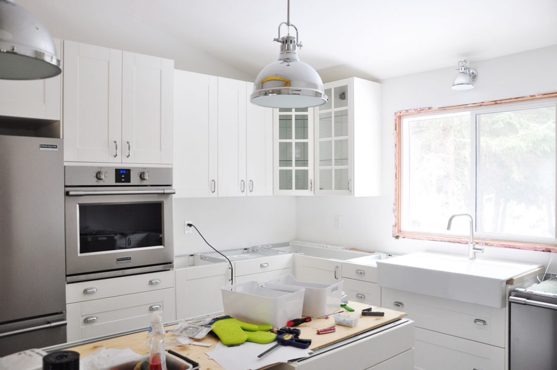 Kitchen Renovation Update #3 – Pearls and Lattes